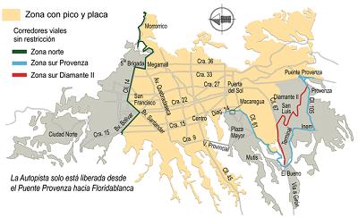 pico-y-placa-bucaramanga-mapa